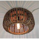 Plafondlamp Tricia hout 40cm