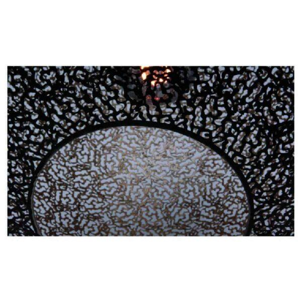 hanglamp Bol zwart goud ORONERO 50cm h 1050 z OP VOORRAAD