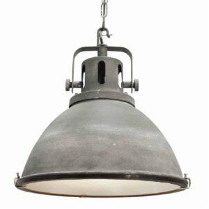 Hanglamp Industry Bas beton grijs