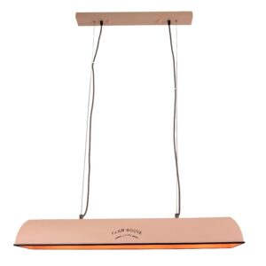 Hanglamp Jesse Vintage roze 90cm
