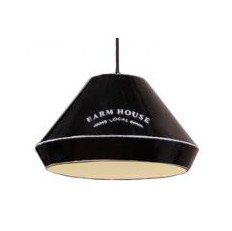 Hanglamp Jesse Vintage zwart farmhouse 33