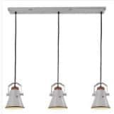 Hanglamp Vintage Jesse wit 3l