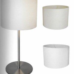 Kappen lampenkappen K 20/15 WI 25 cm gebroken wit
