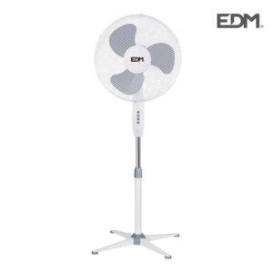 Statiefventilator PIE Wit 40cm 45W 100-125cm hoog