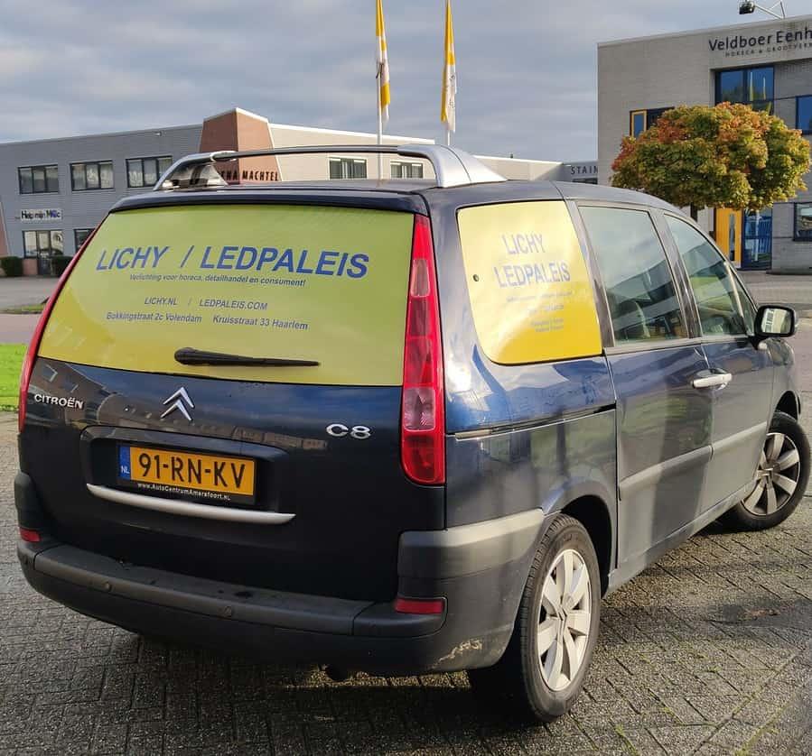 eigen bezorging in Volendam, Edam, Haarlem en omstreken