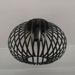 agli plafondlamp 30cm zwart