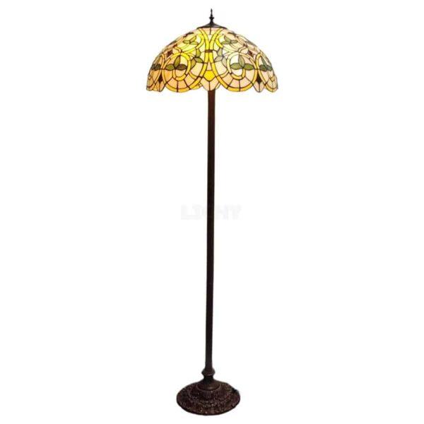 Tiffany vloerlamp barock
