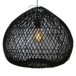 Rotan hanglamp citrus zwart 45cm 510211