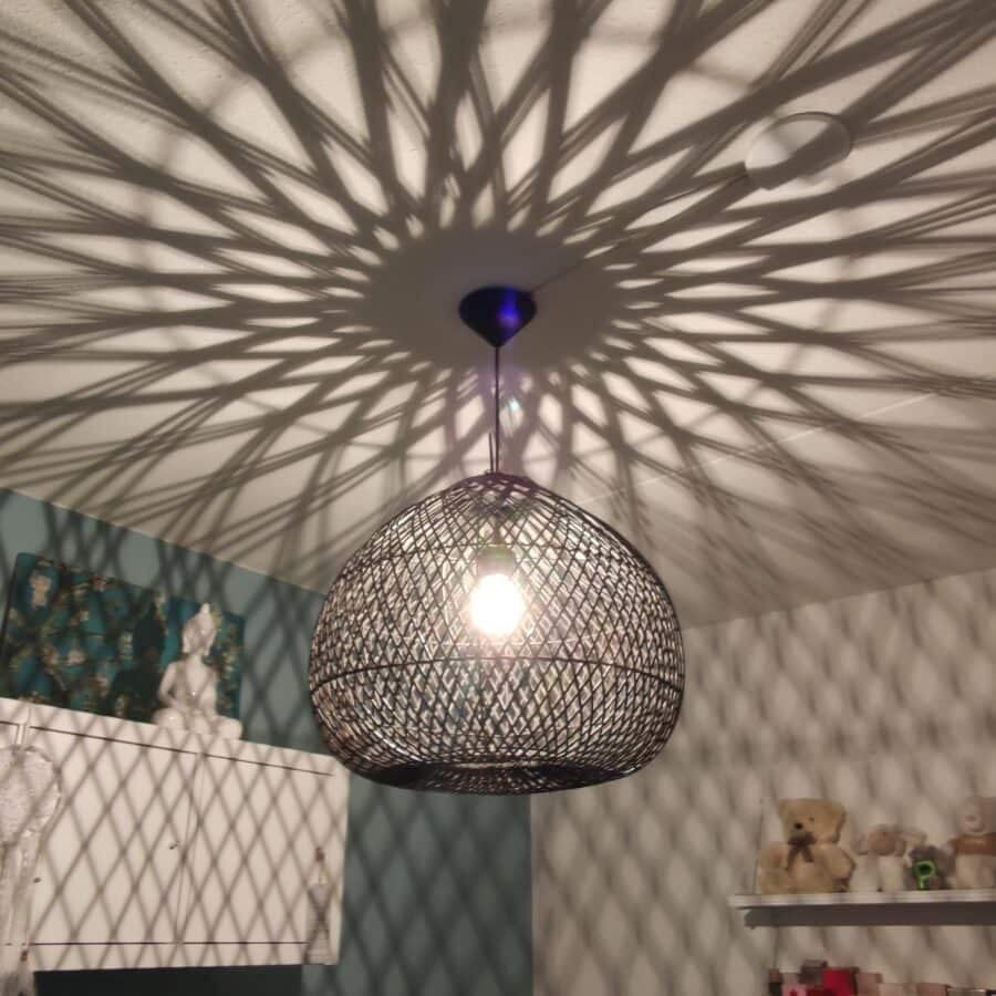 citrus hanglamp zwart 45cm