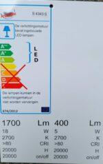 energielabel Gina S 4343
