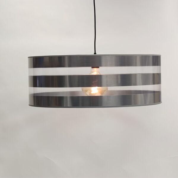Hanglamp kap Stripe Alu strepen 61cm